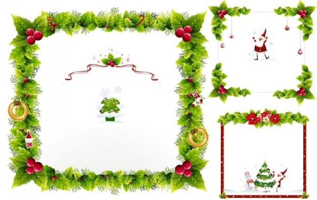 Christmas ornaments Vector.