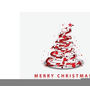 Free Christmas Flourish Clipart.