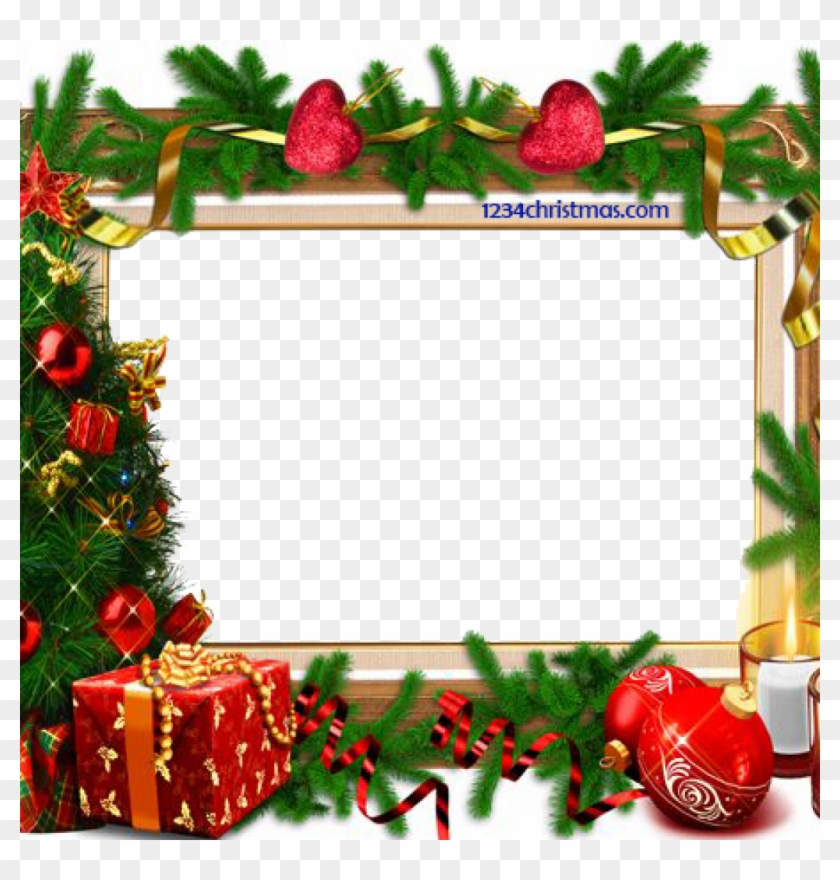 Free Christmas Photo Frames And Borders Png.