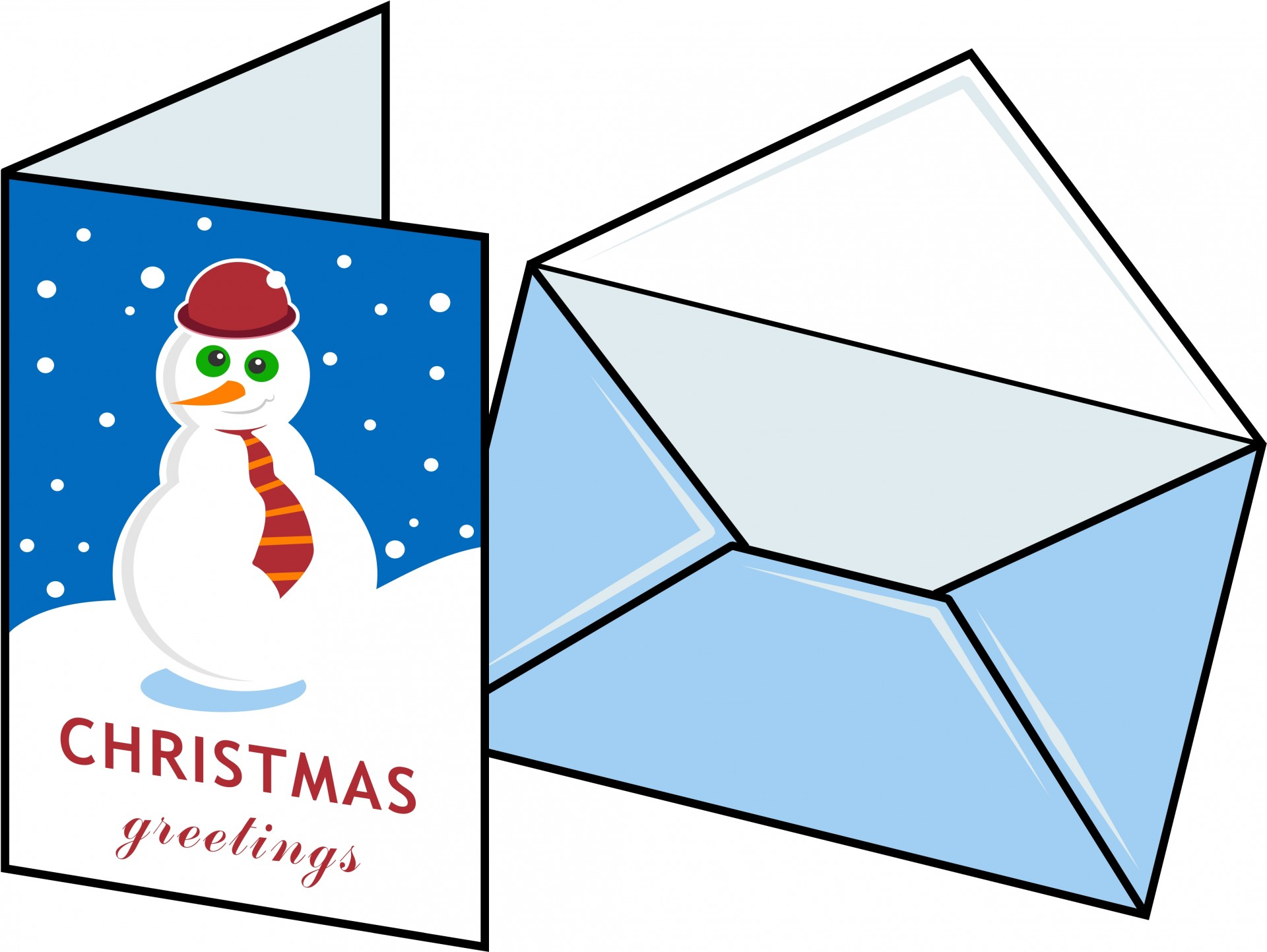 Christmas Card Design Free Stock Photo.