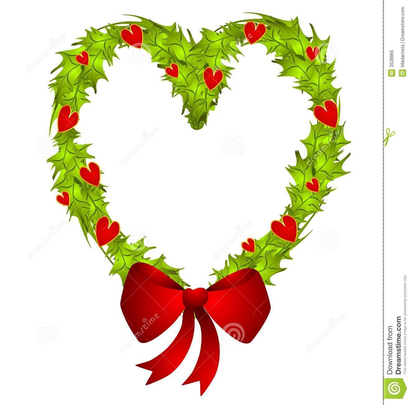 Christmas Heart Clipart.
