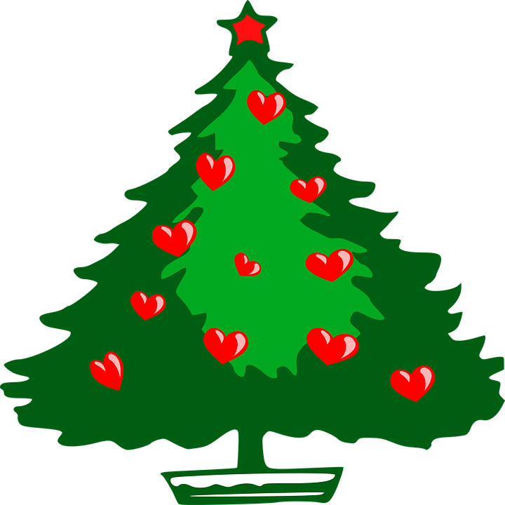 Free vector graphic: Christmas Tree, Ornaments.