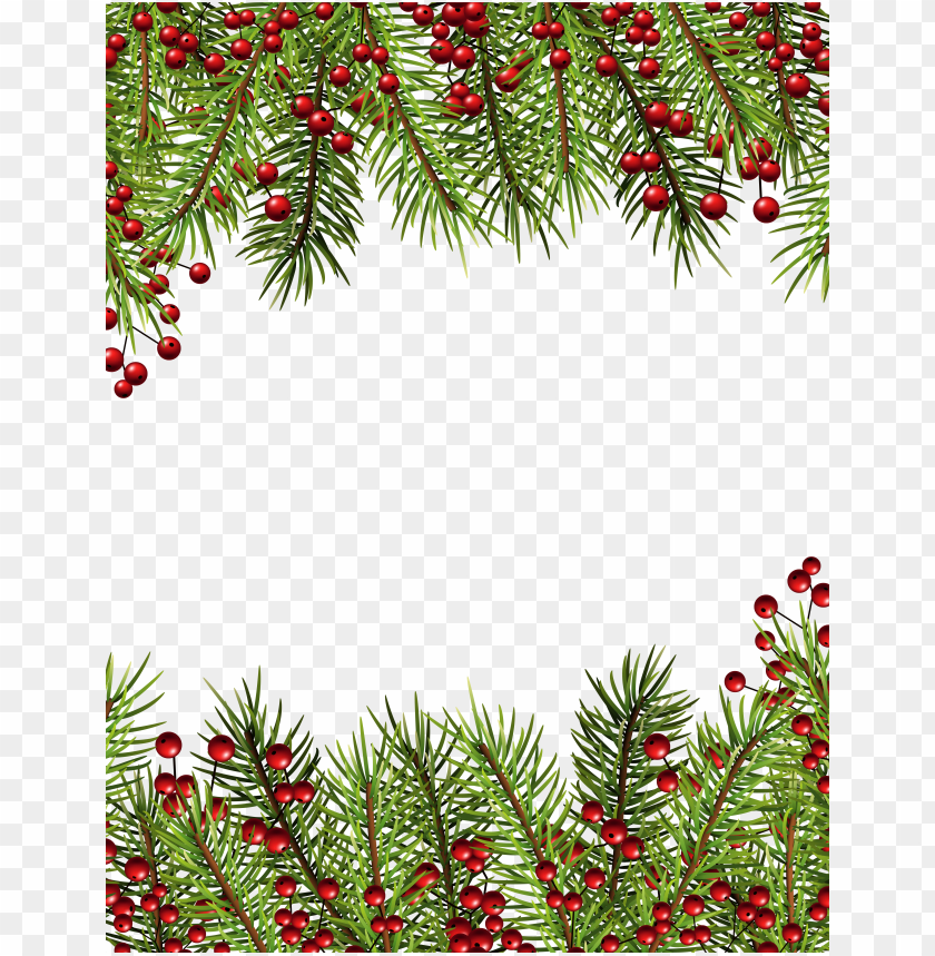 christmas holly border png clipart borders and frames.