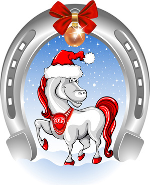 Vector christmas horse free vector download (7,812 Free vector) for.