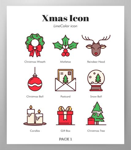 Christmas icons Pack.