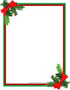 Christmas Borders For Word Documents.