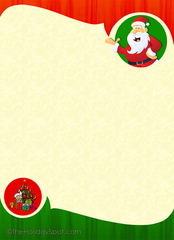 15+ Christmas Paper Templates.