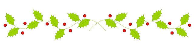 Christmas Line Border Clipart.