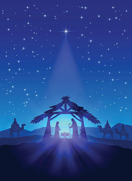 Nativity Scene Clipart Free (75+ Images In #478431.