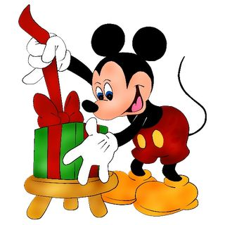 Clipart Mickey Mouse Christmas.