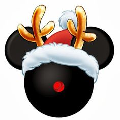 Free Mickey Mouse Christmas Clipart.