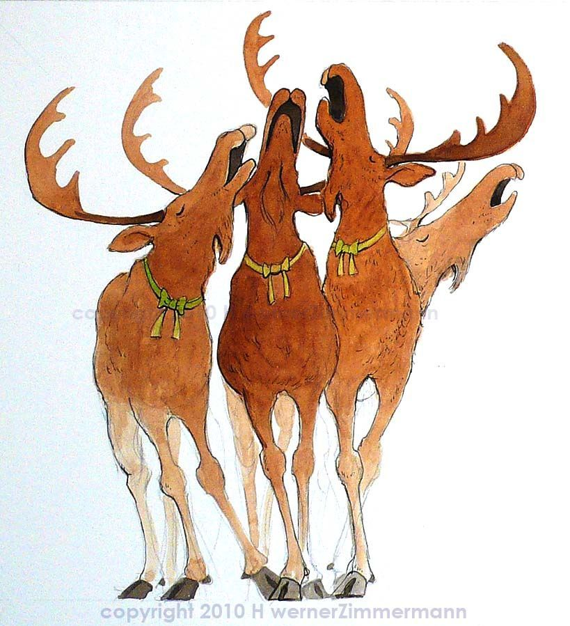Christmas moose clipart free 4 » Clipart Portal.