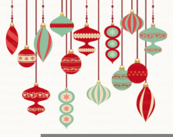 Free Christmas Ornament Clipart Images.