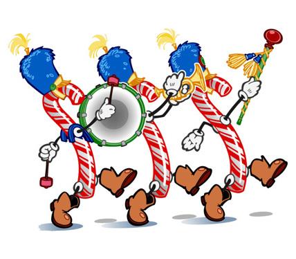 Download christmas parade clipart Santa Claus parade.
