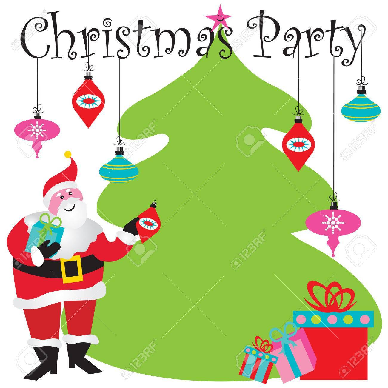 Free christmas party invitation clipart 5 » Clipart Portal.