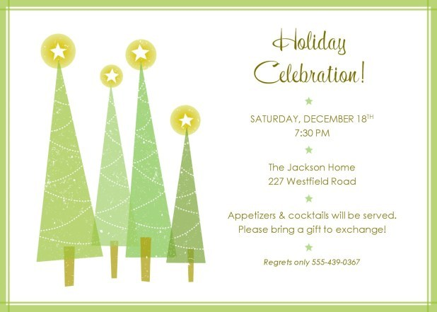 Free christmas party invitation clipart 6 » Clipart Portal.