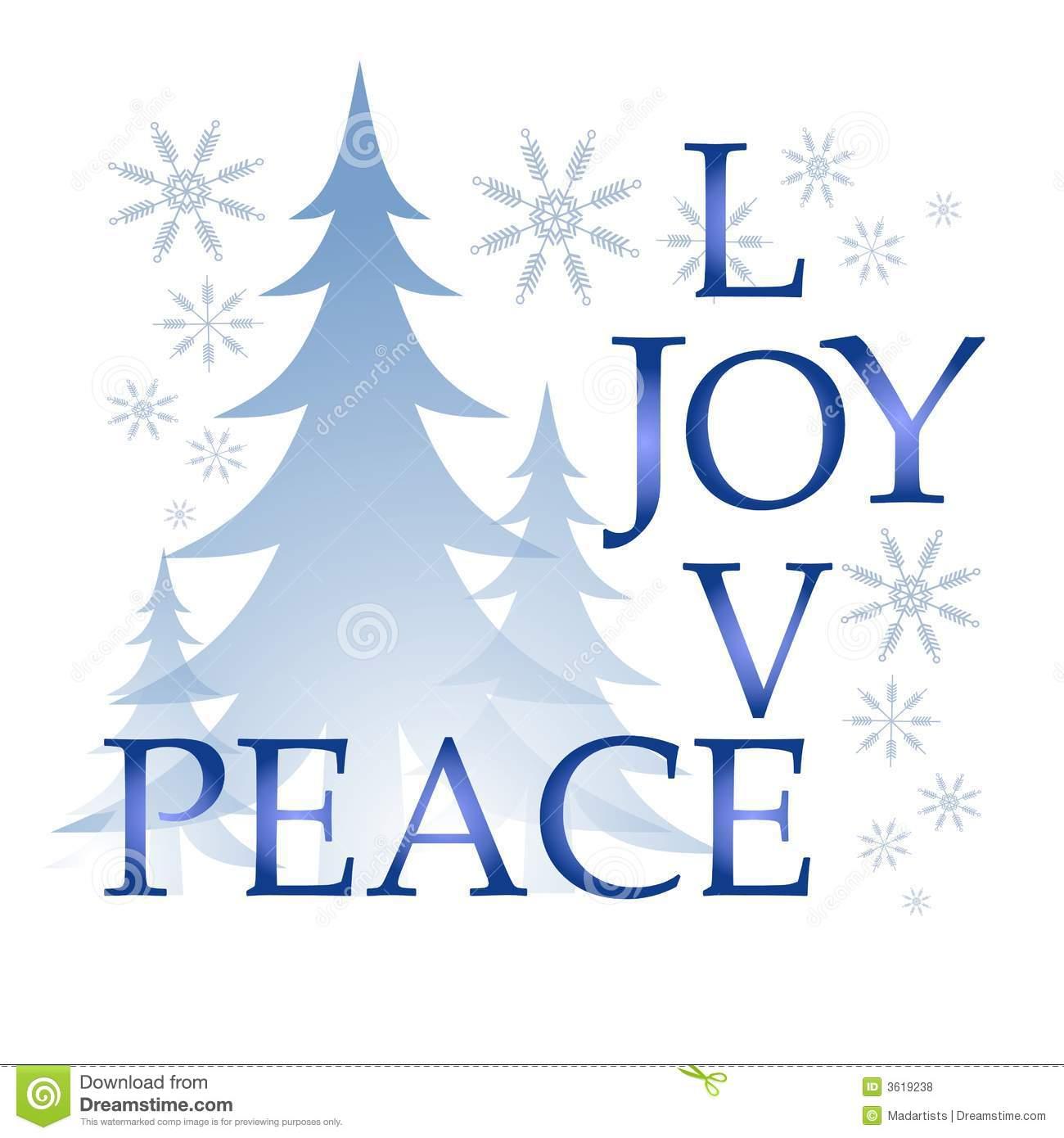 Christmas Peace Clipart.