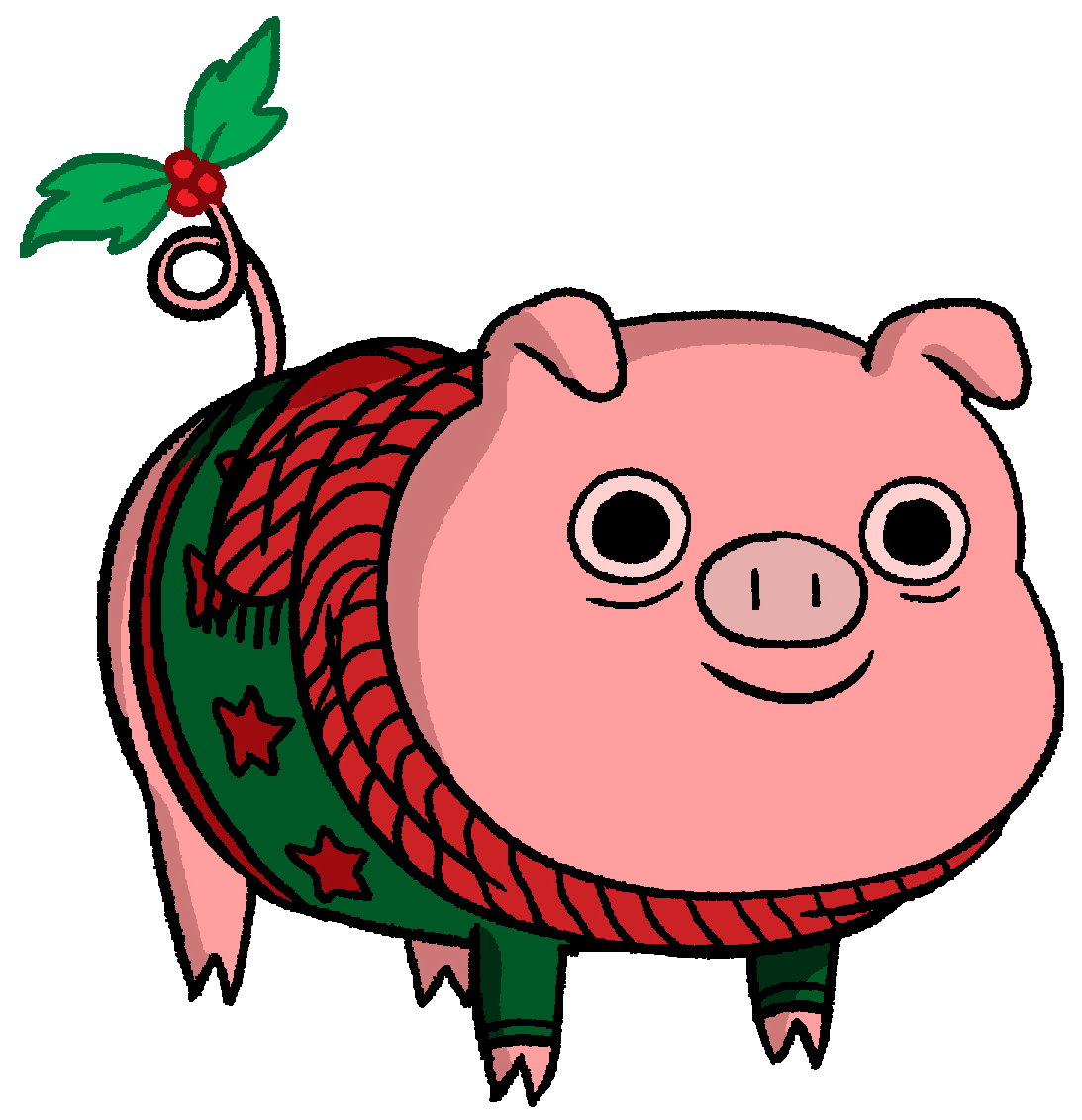 Christmas pig clipart clipart images gallery for free download.