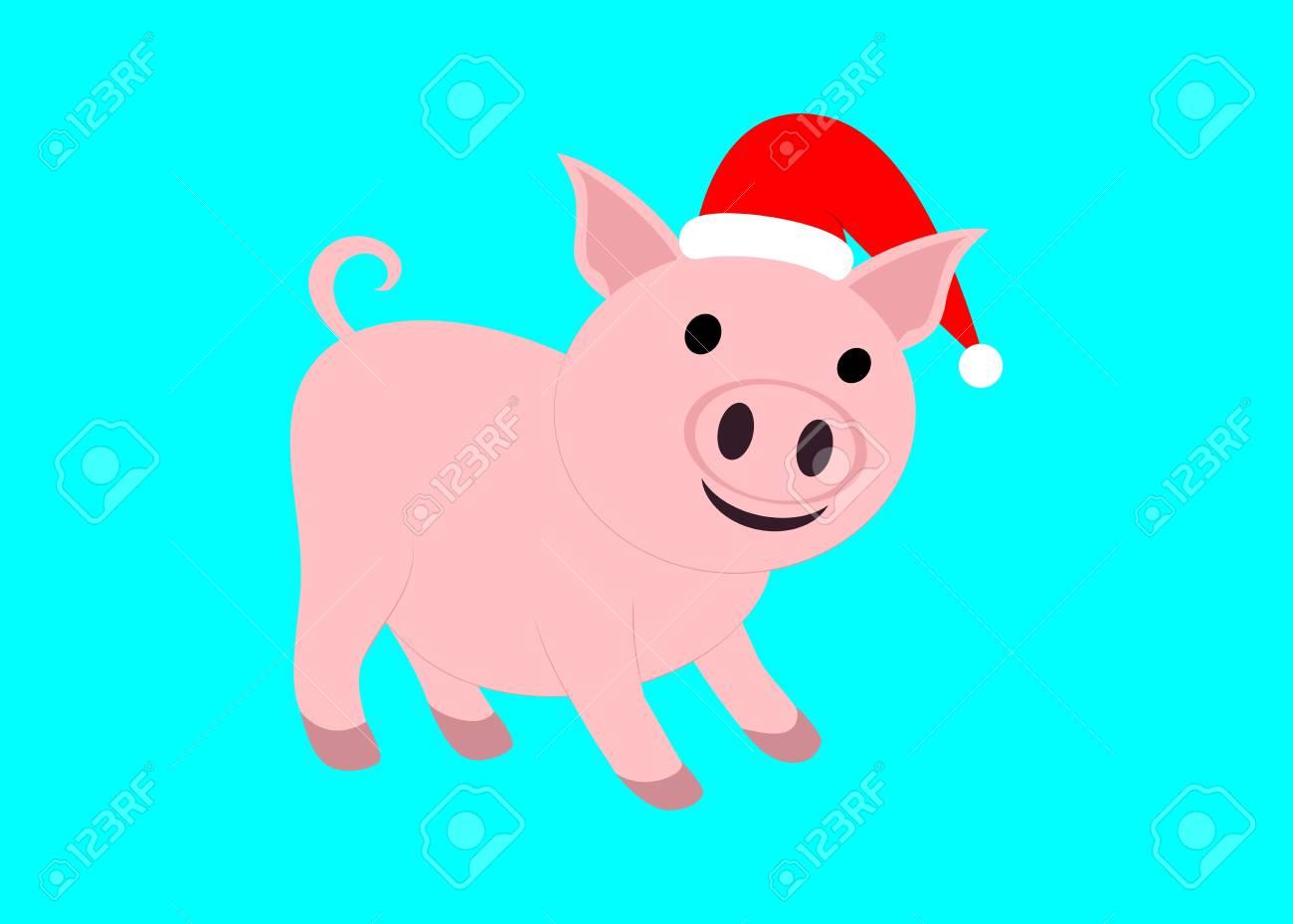 Christmas pig..