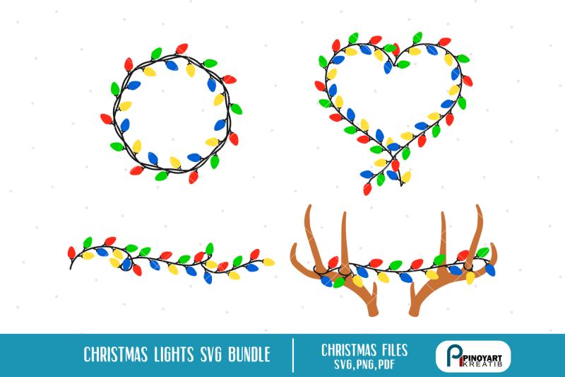 Free christmas lights svg, christmas svg, christmas svg file.