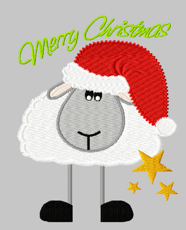 Free Christmas Sheep Cliparts, Download Free Clip Art, Free Clip Art.