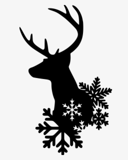Free Christmas Silhouette Clip Art with No Background.