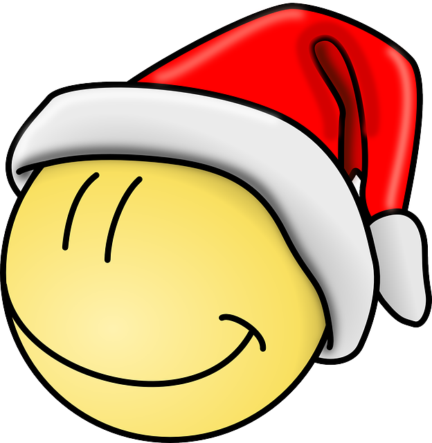 red, happy, faces, face, hat, smiley, christmas, funny.