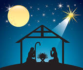 Free Clipart Christmas Stable.