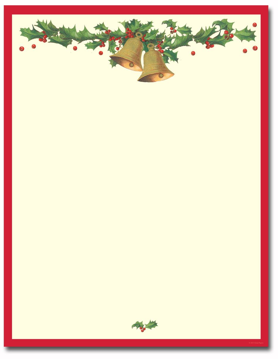 015 Template Ideas Free Christmas Stationery Templates Marvelous.