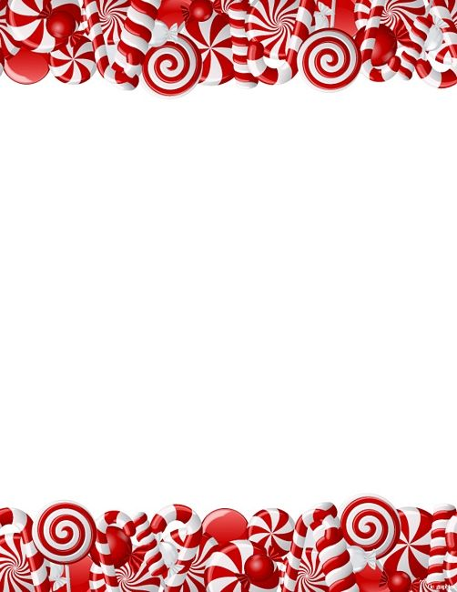 Free Printable Christmas Stationery Templates.