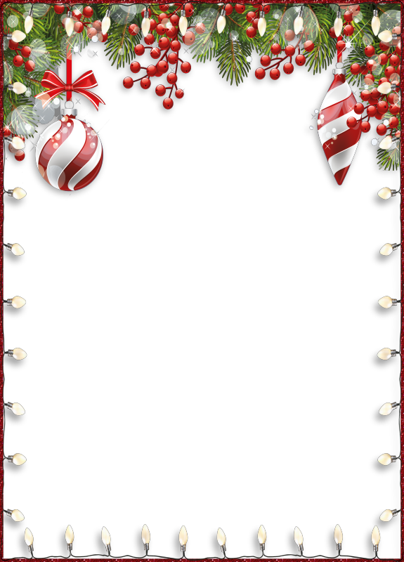 Christmas stationery paper clipart images gallery for free download.
