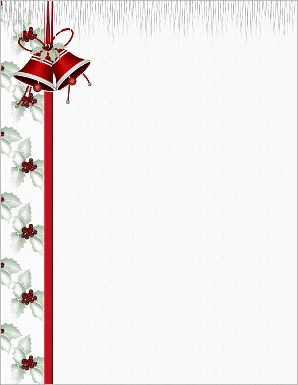 25+ Christmas Stationery Templates.