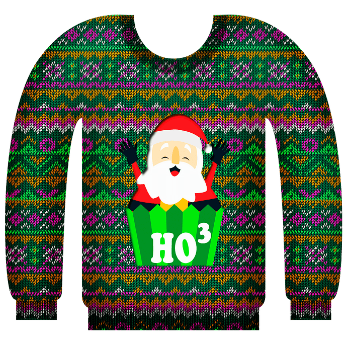 Ugly Christmas Sweater clipart. Free download..