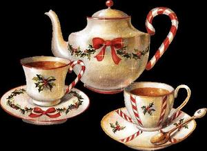 Cup Christmas Tea Clipart.