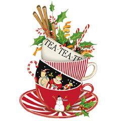 Christmas Teacup.