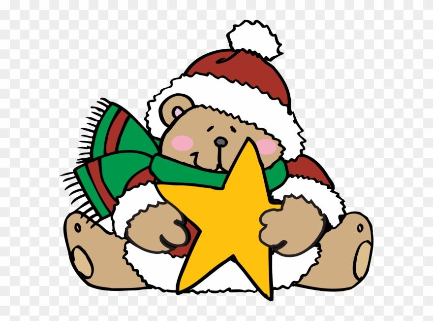 Cute Teddy Bears Dressed For Christmas.