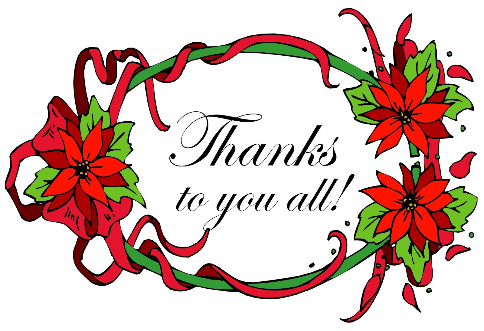 8079 Thank You free clipart.