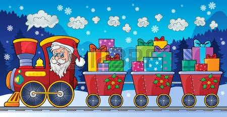 Christmas Train Stock Photos & Pictures. Royalty Free Christmas.