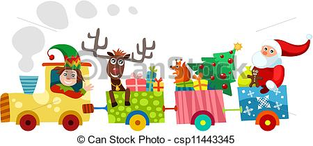 Christmas train Illustrations and Clip Art. 955 Christmas train.