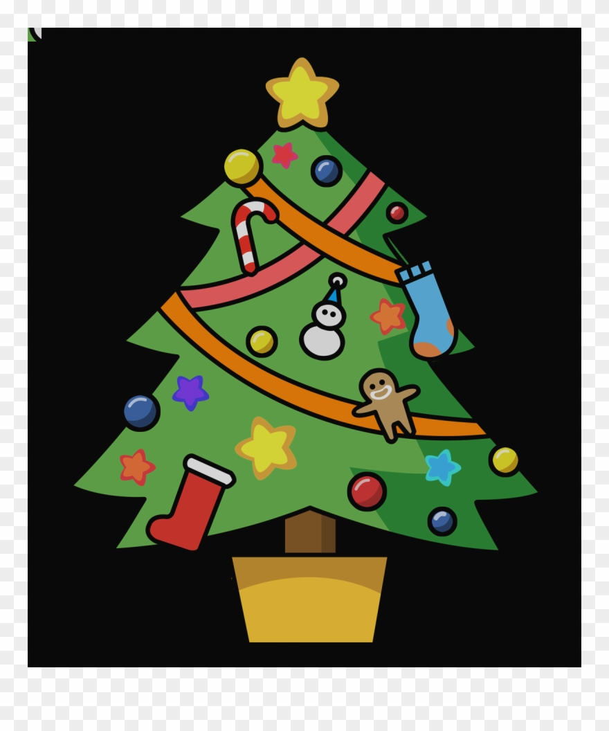 Free Christmas Tree Clip Art Borders Clipart Of Xmas.