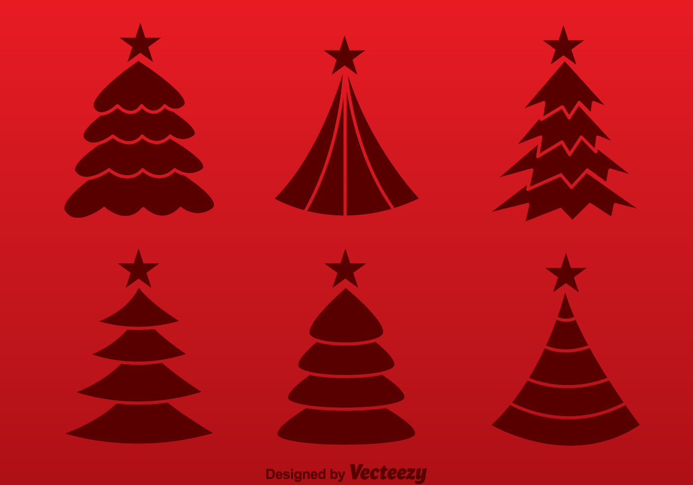 Bare Christmas Tree Clipart.Free Christmas Tree Clipart Red Silhouette 252px Image 8