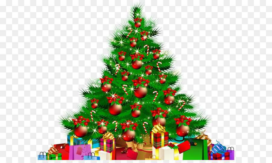 Christmas tree Transparency and translucency Clip art.
