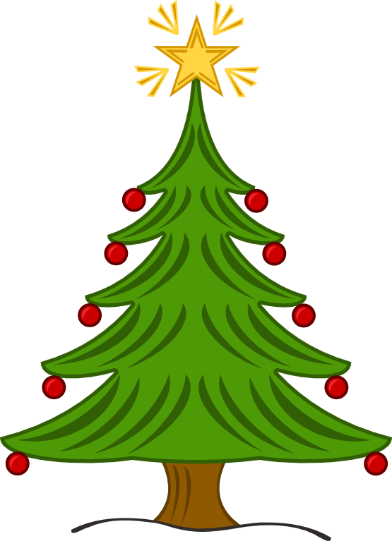 Christmas Tree Free Clipart.
