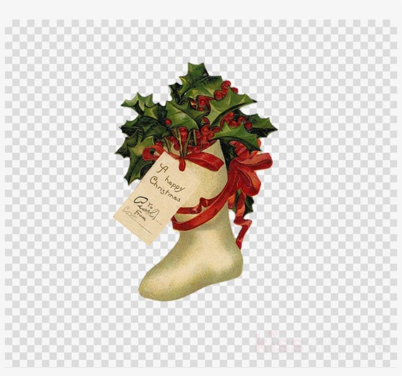Clip Art Clipart Santa Claus Vintage Christmas Clip.