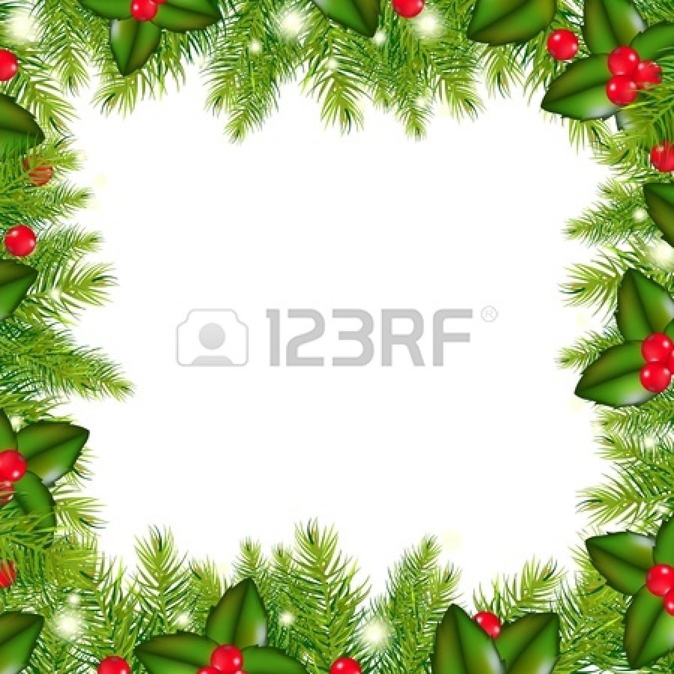 Silk Christmas Garland