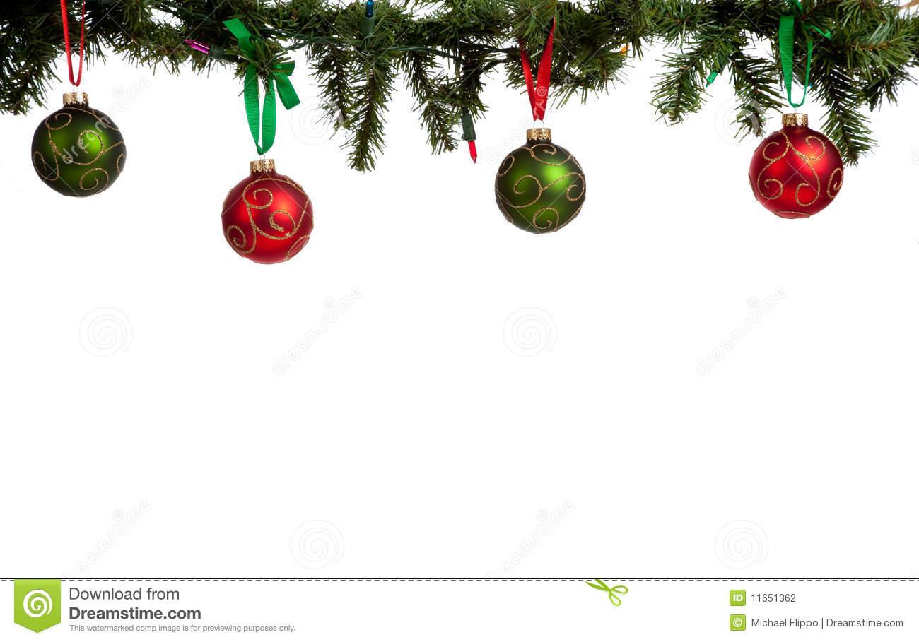 Christmas Wreath Clip Art Border.