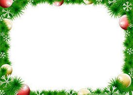 Christmas Wreath Vector Border Clipart Picture Free Download.
