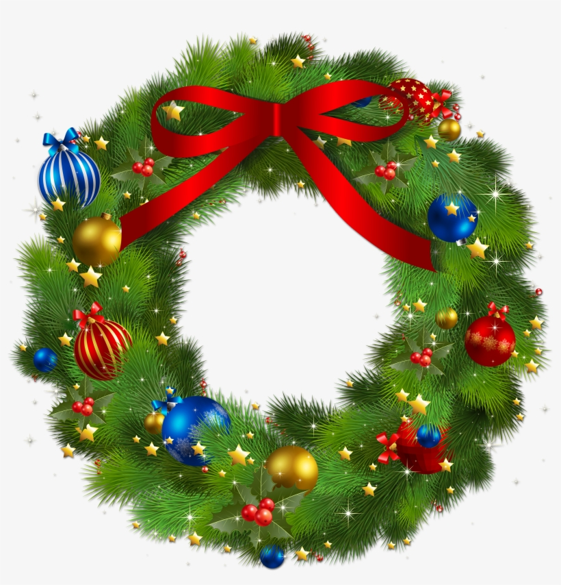 Christmas Wreath Png, Vectors, Psd, And Clipart For.