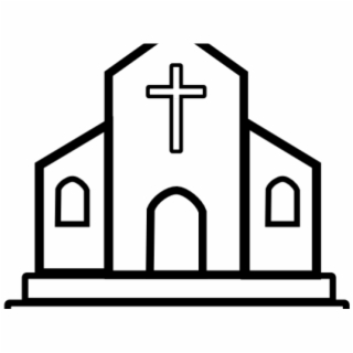 Free Church Clipart PNG Image, Transparent Church Clipart Png.