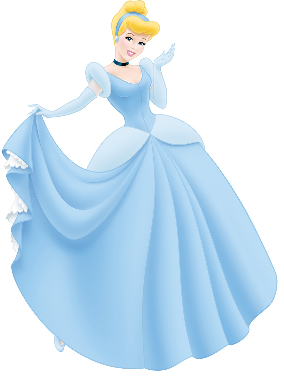 3510 Cinderella free clipart.